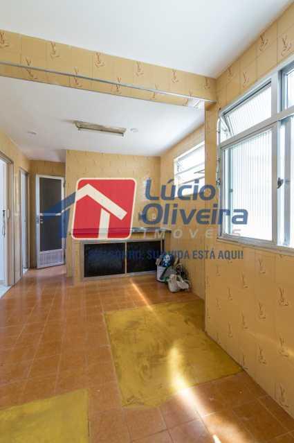 9-Area e cozinha - Apartamento à venda Rua Romero Zander,Ramos, Rio de Janeiro - R$ 175.000 - VPAP21407 - 10