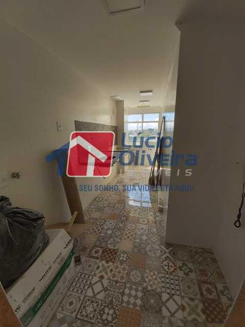 9-Cozinha + Área de serviço. - Apartamento à venda Avenida Dom Hélder Câmara,Quintino Bocaiúva, Rio de Janeiro - R$ 299.000 - VPAP30337 - 10