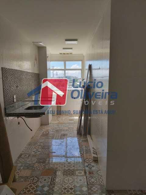 10-Cozinha + Área de serviço - Apartamento à venda Avenida Dom Hélder Câmara,Quintino Bocaiúva, Rio de Janeiro - R$ 299.000 - VPAP30337 - 11