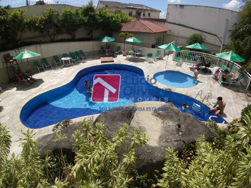 17-Piscina. - Apartamento à venda Avenida Dom Hélder Câmara,Quintino Bocaiúva, Rio de Janeiro - R$ 299.000 - VPAP30337 - 17