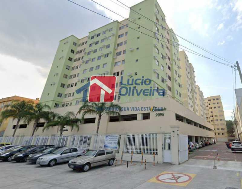 20-Fachada do predio - Apartamento à venda Avenida Dom Hélder Câmara,Quintino Bocaiúva, Rio de Janeiro - R$ 299.000 - VPAP30337 - 20