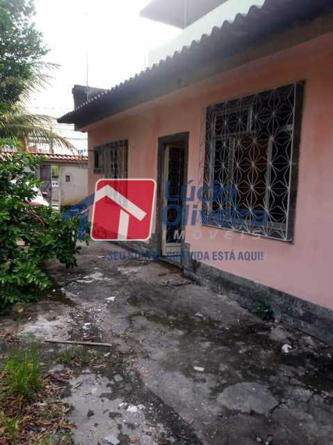 1-Frente entrada casa - Casa Colégio, Rio de Janeiro, RJ À Venda, 1 Quarto, 50m² - VPCA10027 - 1