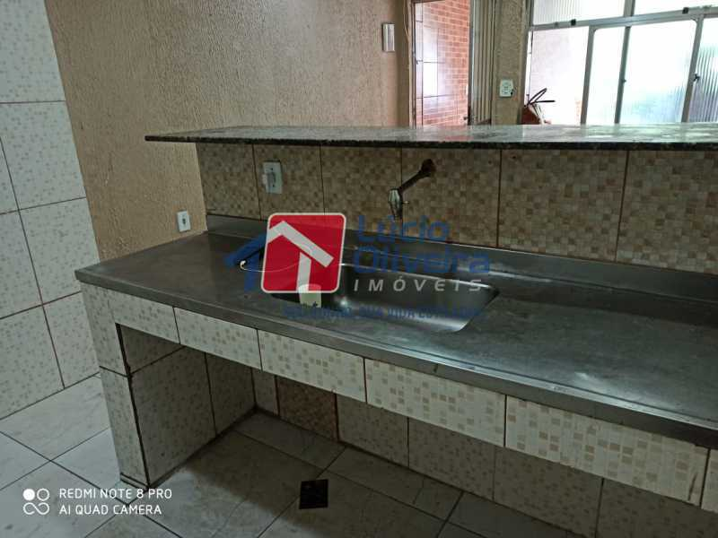 7-Cozinha e bancada - Casa Rua Grucai,Penha, Rio de Janeiro, RJ Para Venda e Aluguel, 1 Quarto - VPCA10028 - 8
