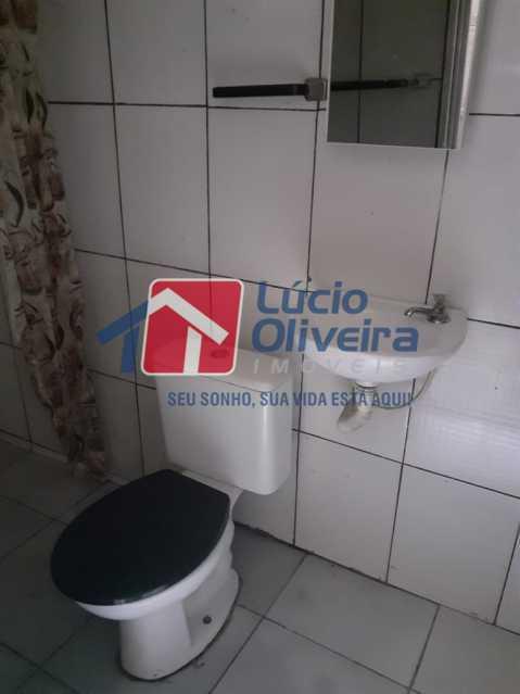 12-Banheiro social - Casa Rua Grucai,Penha, Rio de Janeiro, RJ Para Venda e Aluguel, 1 Quarto - VPCA10028 - 12