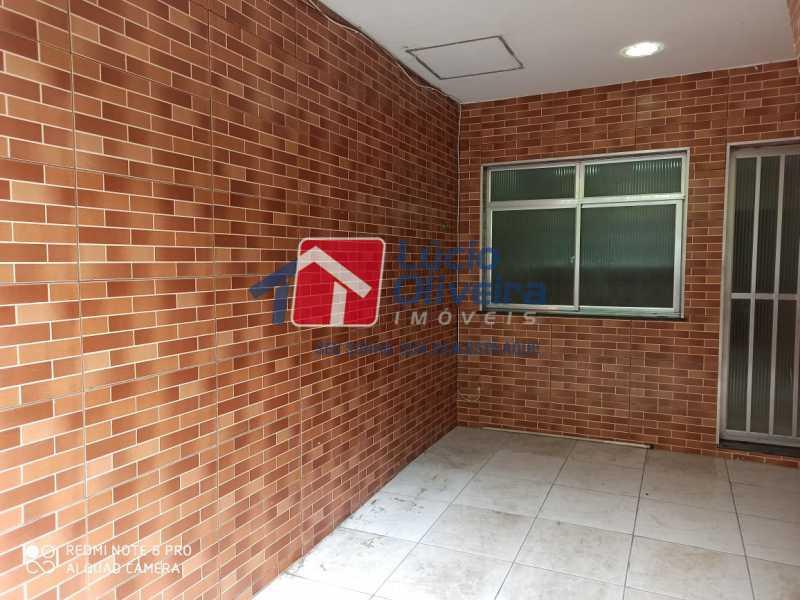 14Frente lateral - Casa Rua Grucai,Penha, Rio de Janeiro, RJ Para Venda e Aluguel, 1 Quarto - VPCA10028 - 15
