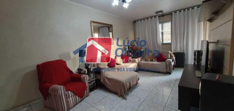 1-Sala ambiente - Apartamento à venda Avenida Teixeira de Castro,Ramos, Rio de Janeiro - R$ 295.000 - VPAP30338 - 1