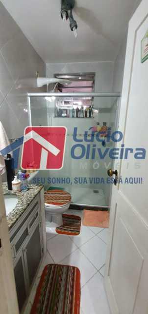 13-Banheiro social .. - Apartamento à venda Avenida Teixeira de Castro,Ramos, Rio de Janeiro - R$ 295.000 - VPAP30338 - 14