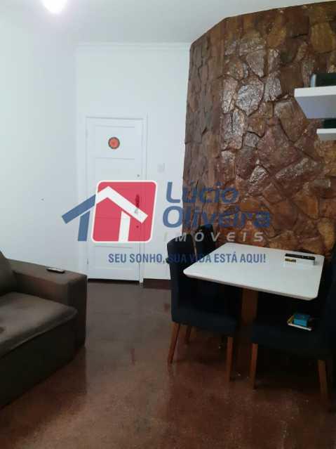 1-Sala ambiente - Apartamento Praça Caí,Penha, Rio de Janeiro, RJ À Venda, 2 Quartos, 55m² - VPAP21410 - 1