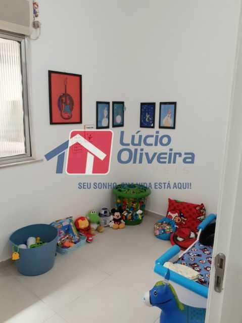 8-Quarto solteiro - Apartamento Praça Caí,Penha, Rio de Janeiro, RJ À Venda, 2 Quartos, 55m² - VPAP21410 - 9