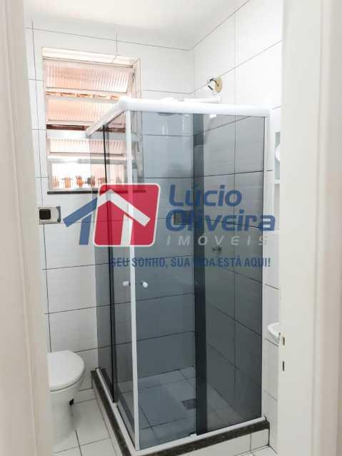 14-Banheiro social blindex - Apartamento Praça Caí,Penha, Rio de Janeiro, RJ À Venda, 2 Quartos, 55m² - VPAP21410 - 15