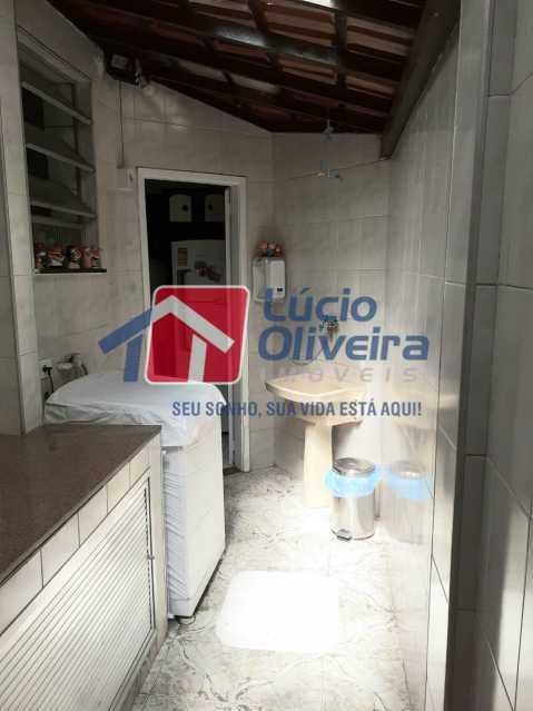 15-Area externa lavanderia - Apartamento Praça Caí,Penha, Rio de Janeiro, RJ À Venda, 2 Quartos, 55m² - VPAP21410 - 16