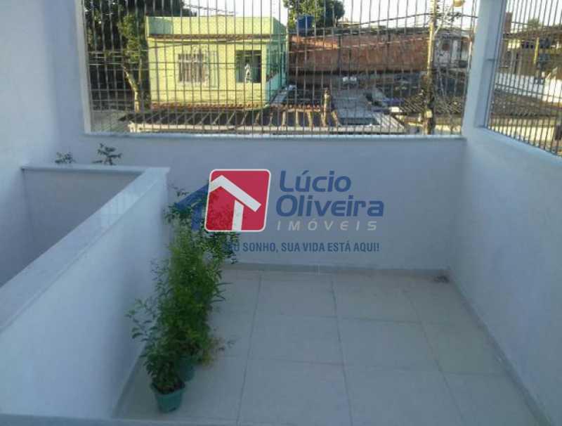 1-Varanda - Casa à venda Rua Jaguarema,Rocha Miranda, Rio de Janeiro - R$ 220.000 - VPCA30193 - 1