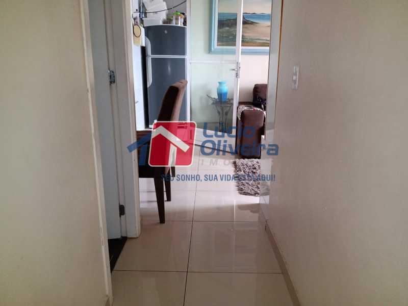 5 Corredor - Apartamento 2 quartos à venda Irajá, Rio de Janeiro - R$ 170.000 - VPAP21412 - 9