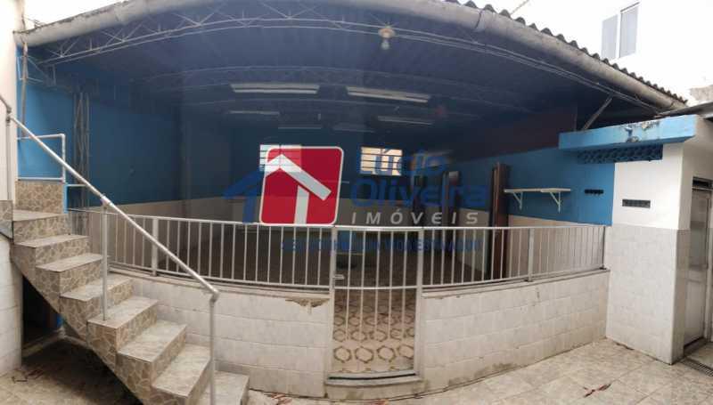 11 - Quintal - Casa à venda Rua Irapua,Penha Circular, Rio de Janeiro - R$ 480.000 - VPCA40063 - 23
