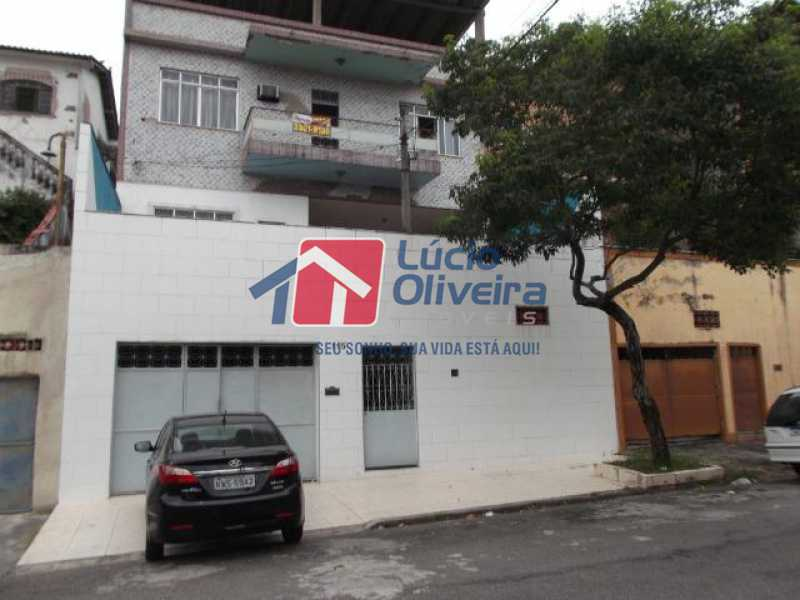 1 fachada - Casa à venda Rua Caraípe,Braz de Pina, Rio de Janeiro - R$ 680.000 - VPCA30194 - 1