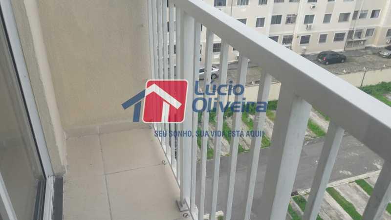 bl 04 605 10 - Apartamento à venda Estrada do Barro Vermelho,Rocha Miranda, Rio de Janeiro - R$ 235.000 - VPAP21420 - 9