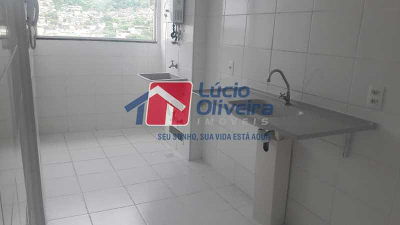 bl 04 605 15 - Apartamento à venda Estrada do Barro Vermelho,Rocha Miranda, Rio de Janeiro - R$ 235.000 - VPAP21420 - 16