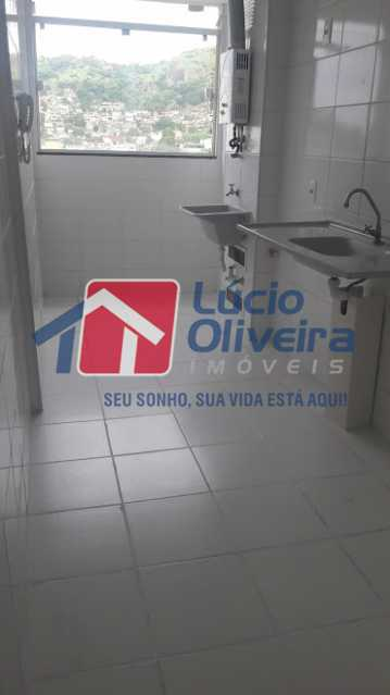 bl 04 605 16 - Apartamento à venda Estrada do Barro Vermelho,Rocha Miranda, Rio de Janeiro - R$ 235.000 - VPAP21420 - 17