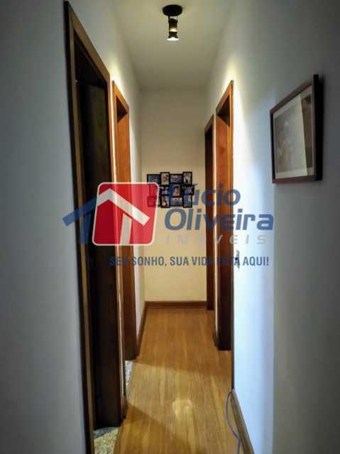5-Circulação - Apartamento Rua Quiririm,Vila Valqueire, Rio de Janeiro, RJ Para Venda e Aluguel, 2 Quartos, 60m² - VPAP21421 - 5