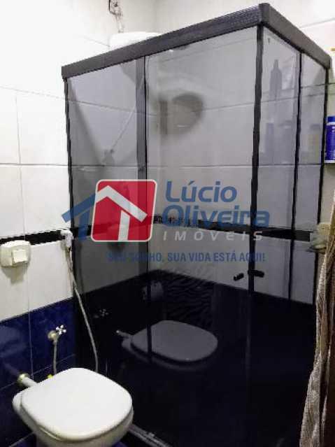 8-Banheiro Blindex - Apartamento Rua Quiririm,Vila Valqueire, Rio de Janeiro, RJ Para Venda e Aluguel, 2 Quartos, 60m² - VPAP21421 - 8