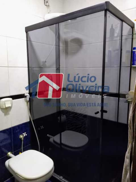 9-Banheiro social.... - Apartamento Rua Quiririm,Vila Valqueire, Rio de Janeiro, RJ Para Venda e Aluguel, 2 Quartos, 60m² - VPAP21421 - 9