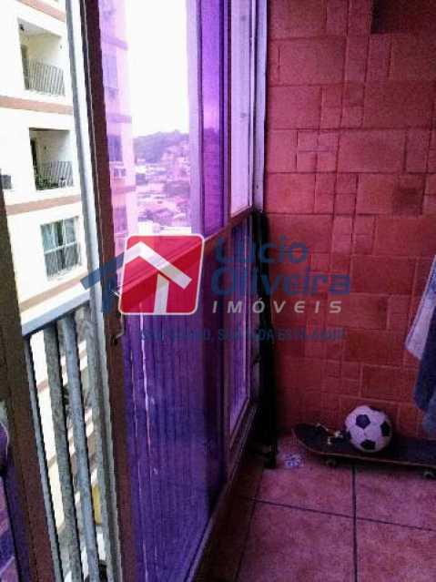 10-Varanda - Apartamento Rua Quiririm,Vila Valqueire, Rio de Janeiro, RJ Para Venda e Aluguel, 2 Quartos, 60m² - VPAP21421 - 10