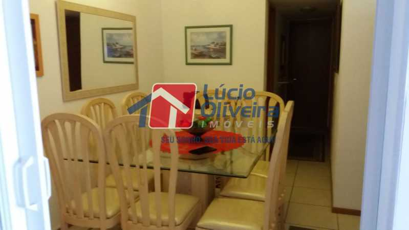 1-Sala - Apartamento Rua Avaré,Campo Grande, Rio de Janeiro, RJ À Venda, 3 Quartos, 70m² - VPAP30339 - 1