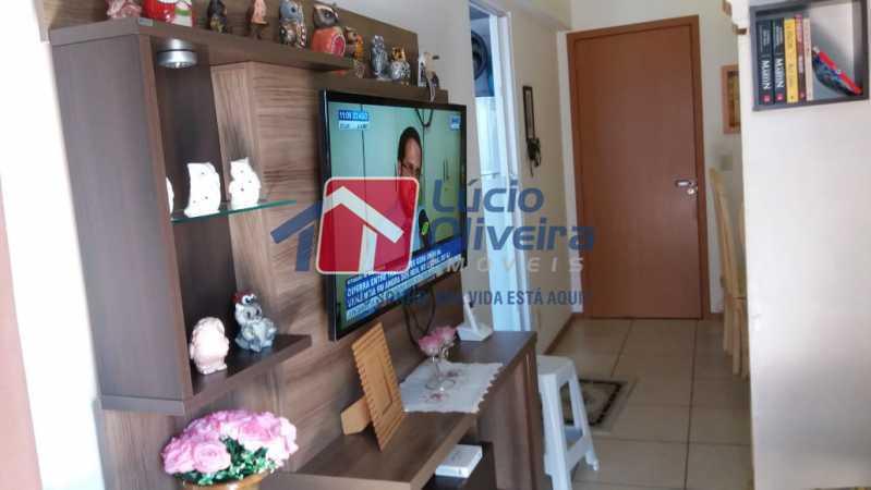 3-Sala  estar - Apartamento Rua Avaré,Campo Grande, Rio de Janeiro, RJ À Venda, 3 Quartos, 70m² - VPAP30339 - 4