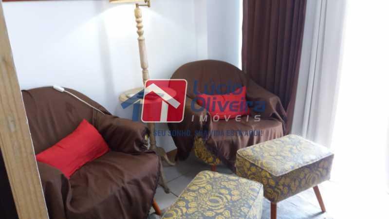 4-Sala 2 ambiente - Apartamento Rua Avaré,Campo Grande, Rio de Janeiro, RJ À Venda, 3 Quartos, 70m² - VPAP30339 - 5