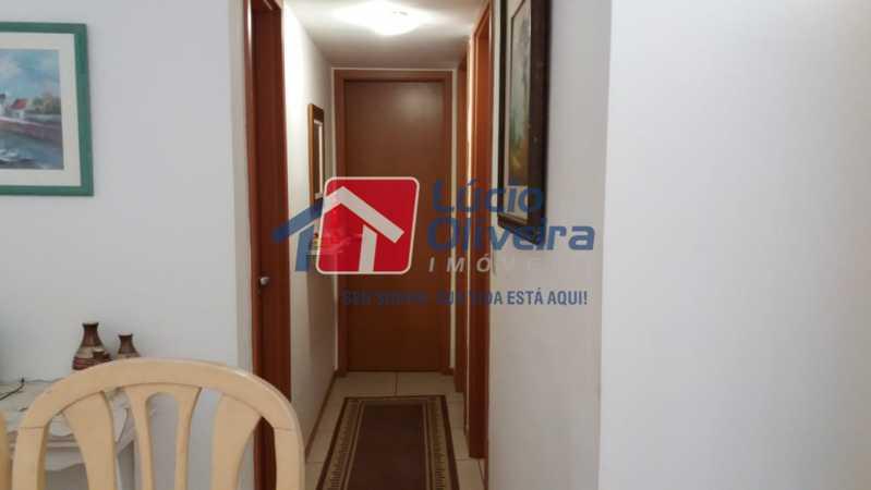 5-circulação - Apartamento Rua Avaré,Campo Grande, Rio de Janeiro, RJ À Venda, 3 Quartos, 70m² - VPAP30339 - 6