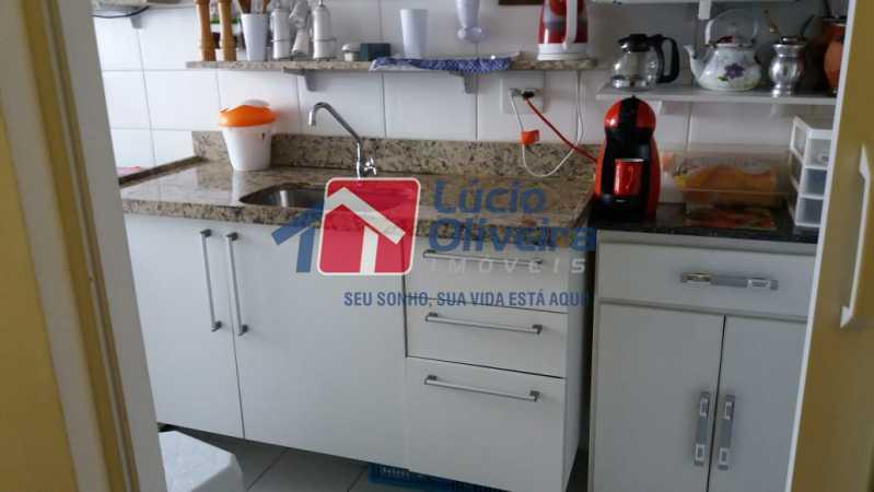 13-Cozinha - Apartamento Rua Avaré,Campo Grande, Rio de Janeiro, RJ À Venda, 3 Quartos, 70m² - VPAP30339 - 14
