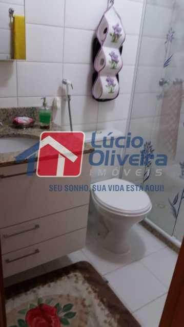14-Banheiro social.. - Apartamento Rua Avaré,Campo Grande, Rio de Janeiro, RJ À Venda, 3 Quartos, 70m² - VPAP30339 - 15