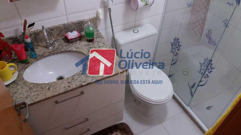 15-Banheiro social - Apartamento Rua Avaré,Campo Grande, Rio de Janeiro, RJ À Venda, 3 Quartos, 70m² - VPAP30339 - 16