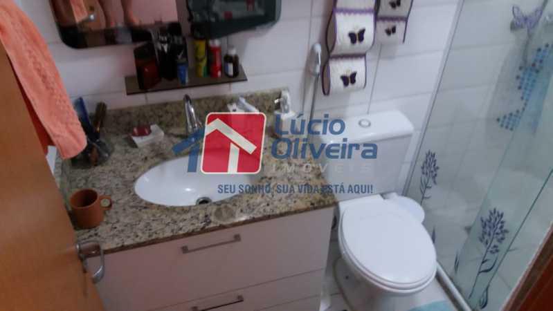 16-Banheiro suite - Apartamento Rua Avaré,Campo Grande, Rio de Janeiro, RJ À Venda, 3 Quartos, 70m² - VPAP30339 - 17