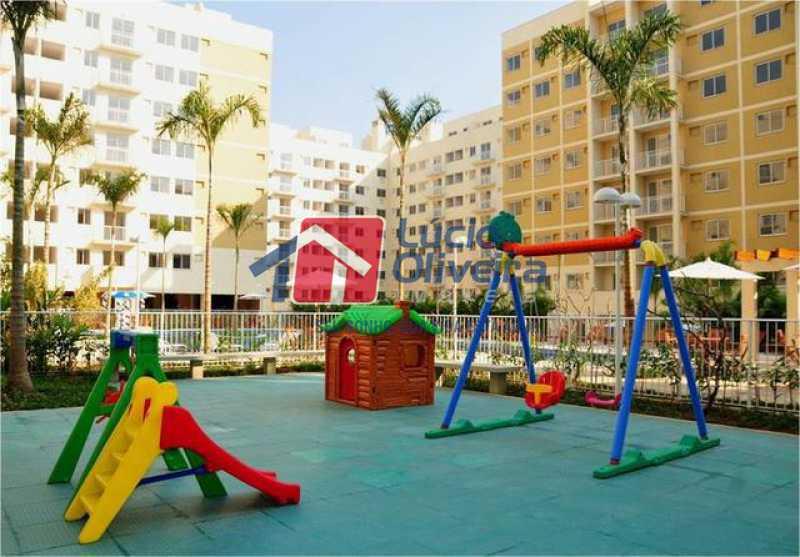 17-Parquinho infantil - Apartamento Rua Avaré,Campo Grande, Rio de Janeiro, RJ À Venda, 3 Quartos, 70m² - VPAP30339 - 18