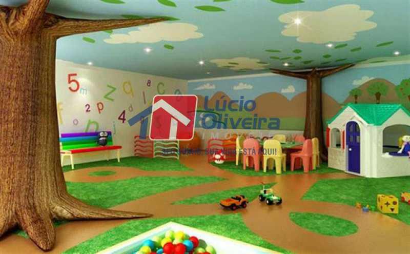 19-Salão Festas Infantil - Apartamento Rua Avaré,Campo Grande, Rio de Janeiro, RJ À Venda, 3 Quartos, 70m² - VPAP30339 - 20