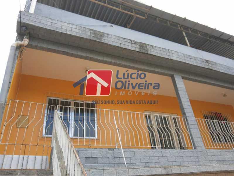 1-Frente Casa - Casa Rua Pacheco Júnior,Braz de Pina, Rio de Janeiro, RJ À Venda, 3 Quartos, 80m² - VPCA30195 - 1