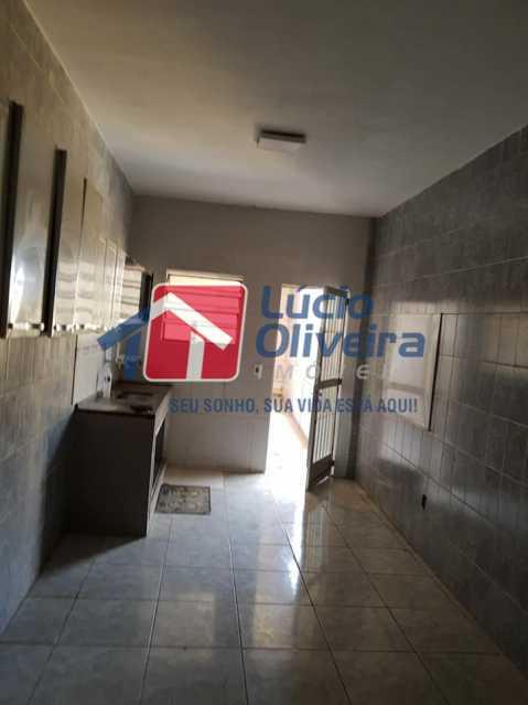 9-Cozinha - Casa Rua Pacheco Júnior,Braz de Pina, Rio de Janeiro, RJ À Venda, 3 Quartos, 80m² - VPCA30195 - 10