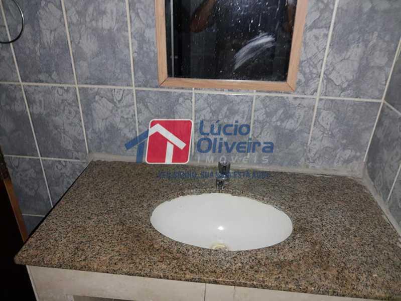 10-Banheiro pia granito - Casa Rua Pacheco Júnior,Braz de Pina, Rio de Janeiro, RJ À Venda, 3 Quartos, 80m² - VPCA30195 - 11