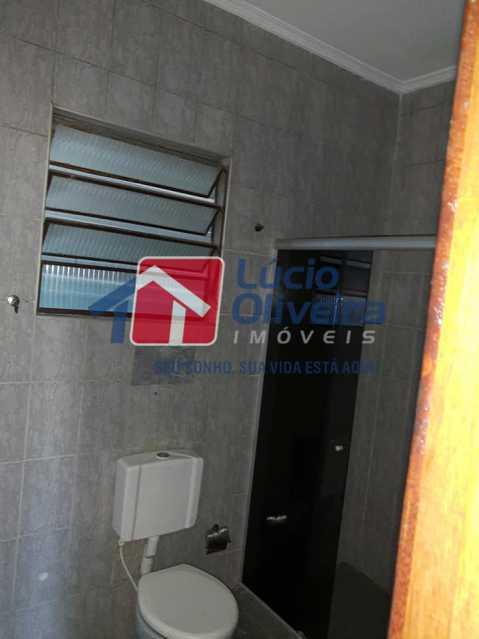 11-Banheiro blindex - Casa Rua Pacheco Júnior,Braz de Pina, Rio de Janeiro, RJ À Venda, 3 Quartos, 80m² - VPCA30195 - 12