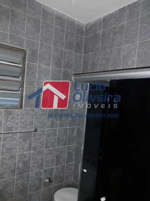 12-Banheiro social - Casa Rua Pacheco Júnior,Braz de Pina, Rio de Janeiro, RJ À Venda, 3 Quartos, 80m² - VPCA30195 - 13