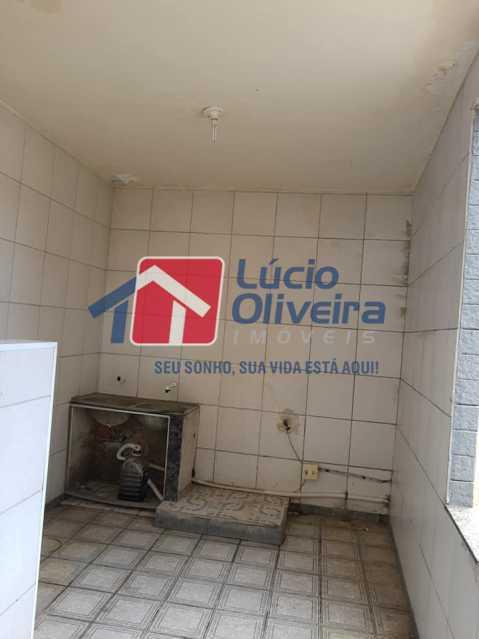13-Area serviço - Casa Rua Pacheco Júnior,Braz de Pina, Rio de Janeiro, RJ À Venda, 3 Quartos, 80m² - VPCA30195 - 14