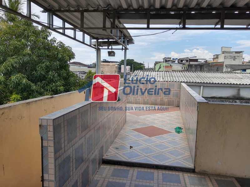 14-Terraço.... - Casa Rua Pacheco Júnior,Braz de Pina, Rio de Janeiro, RJ À Venda, 3 Quartos, 80m² - VPCA30195 - 15