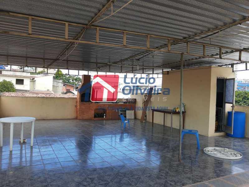 15-Terraço - Casa Rua Pacheco Júnior,Braz de Pina, Rio de Janeiro, RJ À Venda, 3 Quartos, 80m² - VPCA30195 - 16