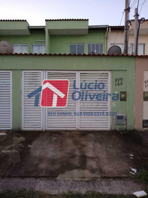 18-Frente casa - Casa 2 quartos à venda Campo Grande, Rio de Janeiro - R$ 400.000 - VPCA20264 - 20