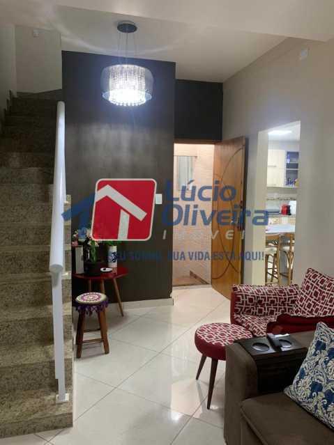 2 sala - Casa à venda Rua Doutor Nicanor,Inhaúma, Rio de Janeiro - R$ 740.000 - VPCA50029 - 3
