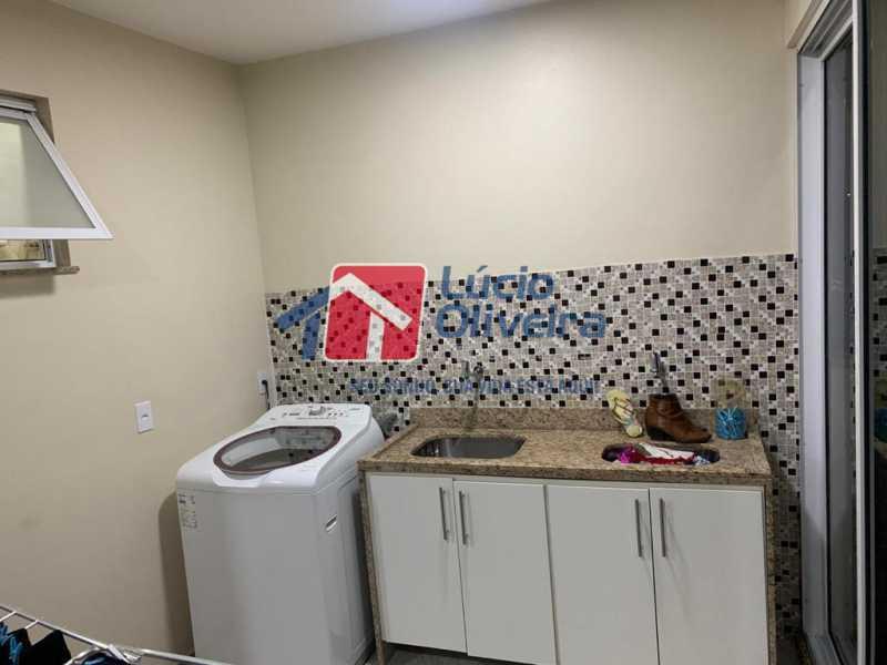 9 area - Casa à venda Rua Doutor Nicanor,Inhaúma, Rio de Janeiro - R$ 740.000 - VPCA50029 - 10