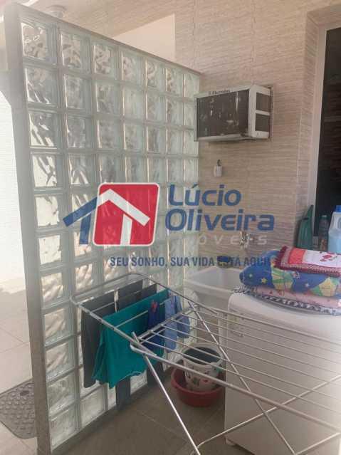 12 area - Casa à venda Rua Doutor Nicanor,Inhaúma, Rio de Janeiro - R$ 740.000 - VPCA50029 - 13