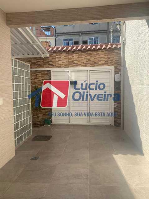15 garagem - Casa à venda Rua Doutor Nicanor,Inhaúma, Rio de Janeiro - R$ 740.000 - VPCA50029 - 16