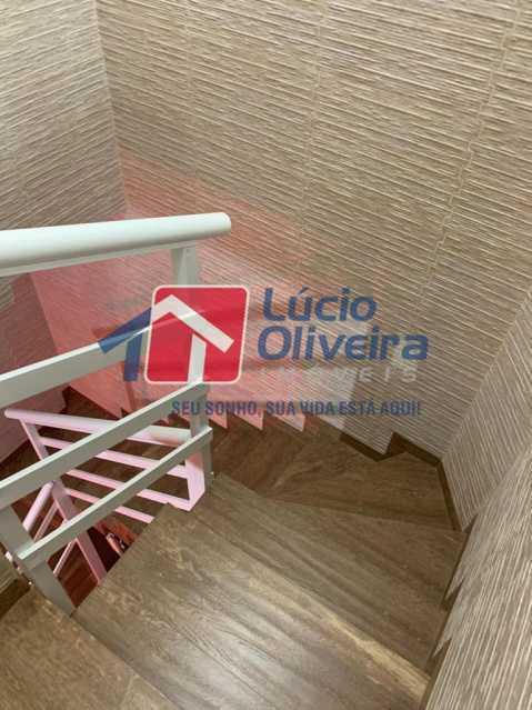 17 escada - Casa à venda Rua Doutor Nicanor,Inhaúma, Rio de Janeiro - R$ 740.000 - VPCA50029 - 18
